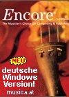 Enciore 5 Notationssoftware - Musiksoftware für den perfekten Notensatz
